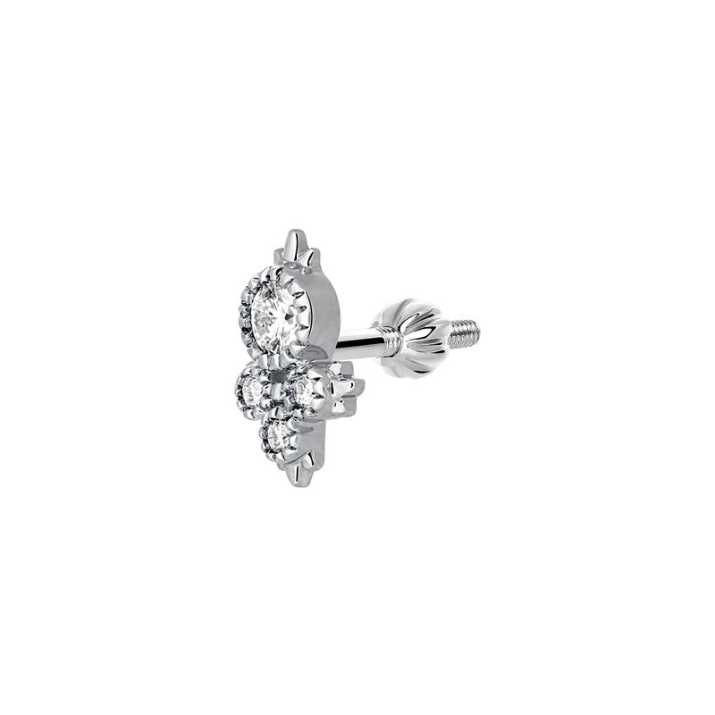 Four diamonds earring, J03384-01-H, hi-res