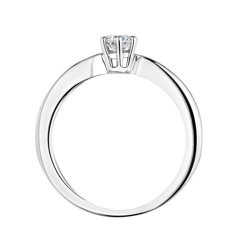 Anillo diamante 0,25 ct oro blanco, J00788-01-25-GVS, hi-res