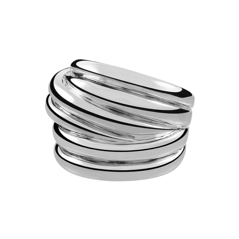 Large silver multi-band ring, J01437-01, hi-res