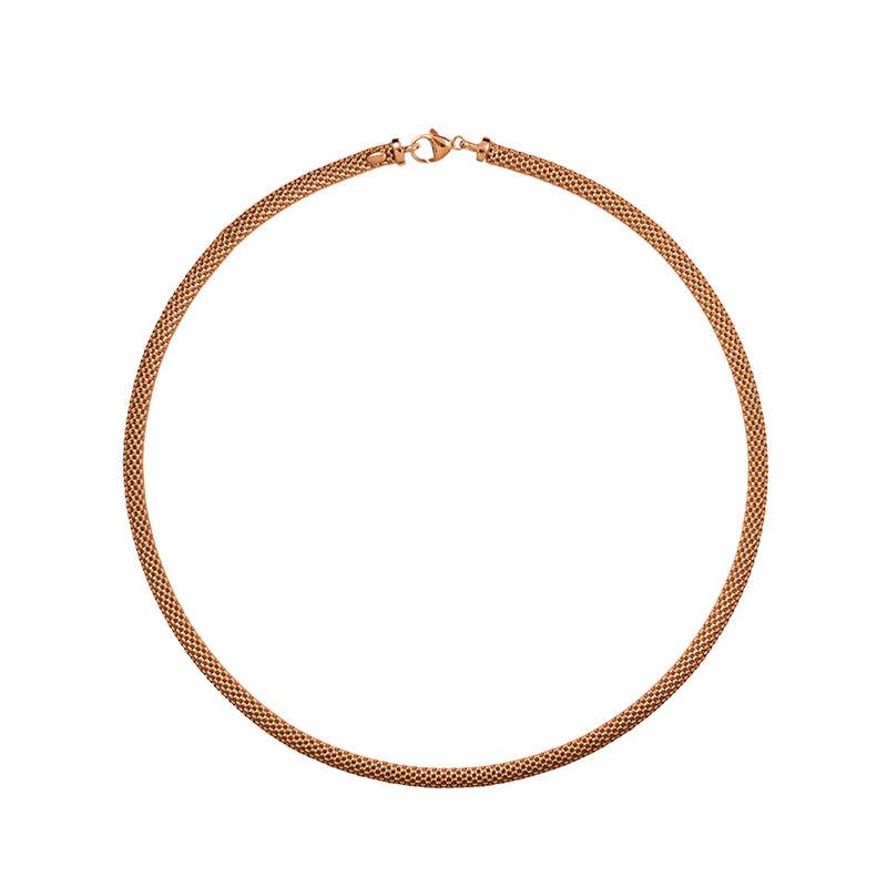 Collar fino malla oro rosa, J01338-03, hi-res