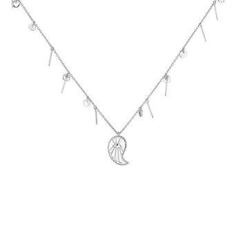 Collier cachemire avec pendentifs argent, J04139-01-BSN, hi-res