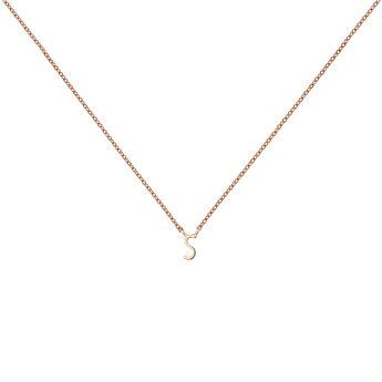 Collar inicial S oro rosa, J04382-03-S, hi-res