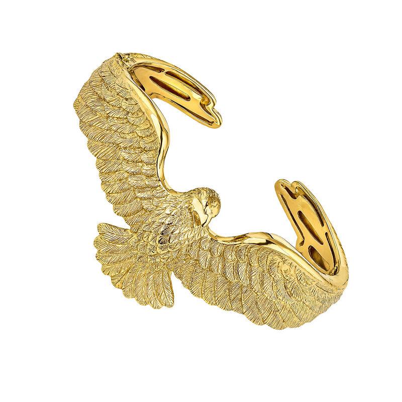 Brazalete águila plata recubierta oro, J04547-02, hi-res