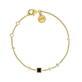 Bracelet with spinel and topaz gold, J04060-02-BSN-WT, hi-res