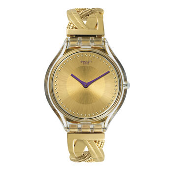 Swatch x Aristocrazy Jewel Watch + chameleon bracelet, CHAMESPARKLES-SKIN, hi-res