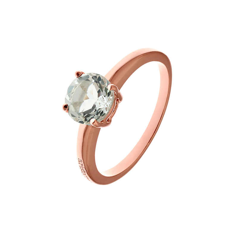 Anillo garras cuarzo plata recubierta oro rosa, J01775-03-GQ, hi-res