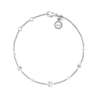Pulsera lunas topacio plata, J04000-01-WT, hi-res