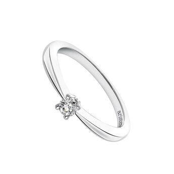 White gold solitaire ring 0.12 ct., J03398-01-12-GVS, hi-res