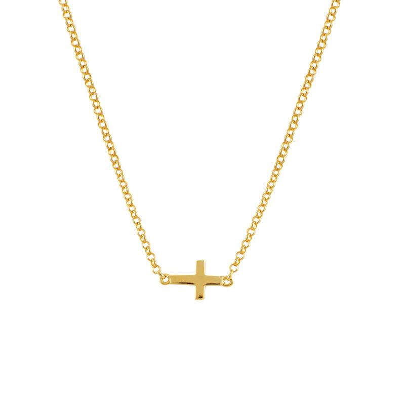 Colgante cruz oro, J00653-02, hi-res