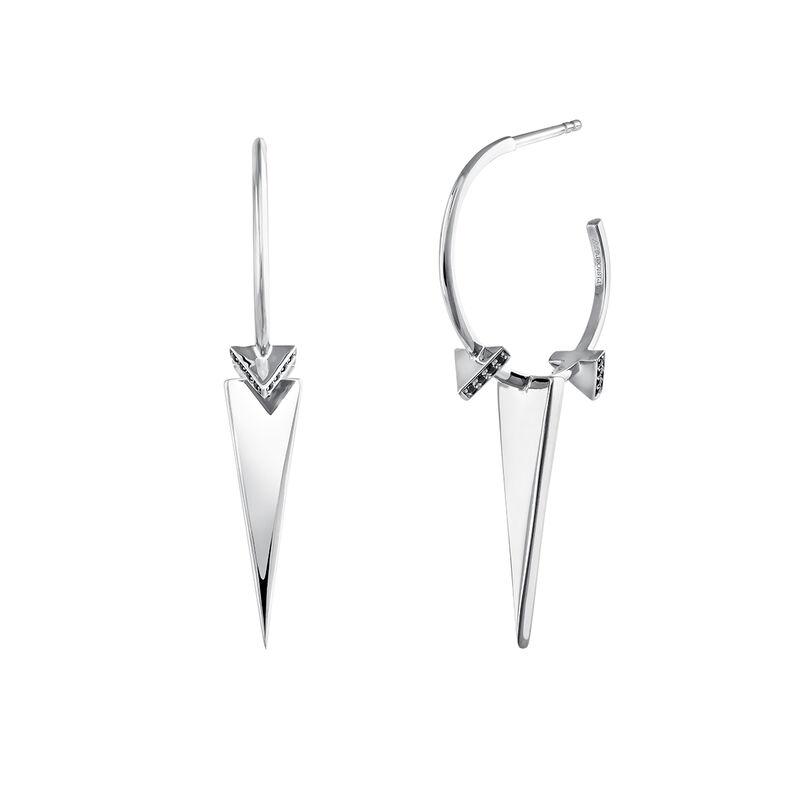 Pendientes aro triángulos espinela plata, J03965-01-BSN, hi-res