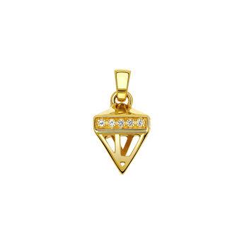 Colgante farolillo topacio oro, J03525-02-WT, hi-res