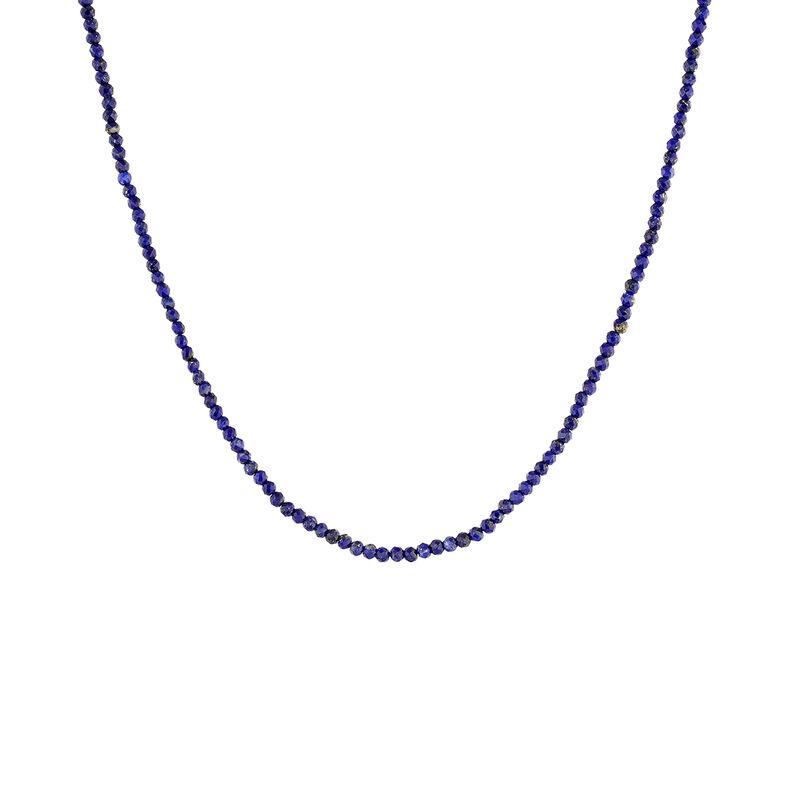Gold plated silver lapislazuli necklace, J04879-02-LP, hi-res