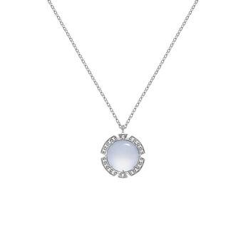 Silver stone necklace, J03501-01-BCWT, hi-res