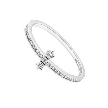 Anillo doble diamantes oro blanco, J03343-01, hi-res