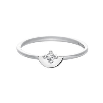 Silver topaz ring, J03742-01-WT, hi-res