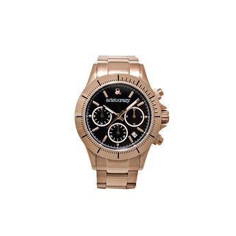 Reloj Soho armis oro rosa esfera negra , W0024Q-STBL-STPK, hi-res