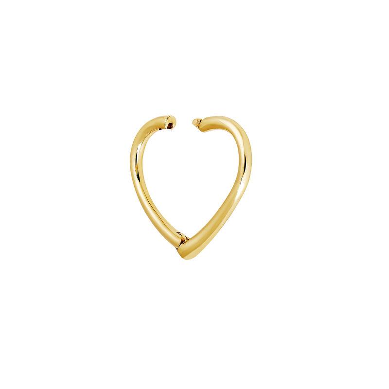 Piercing aro corazón oro9 kt, J04344-02-H, hi-res