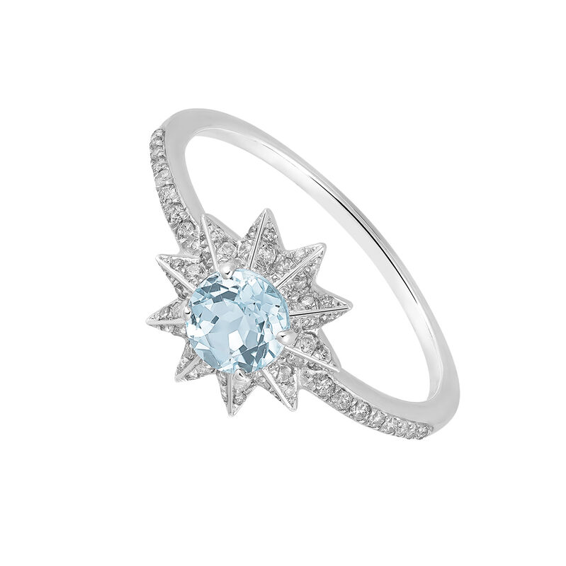 Large silver ring with blue topaz, J03300-01-SKY-SP, hi-res