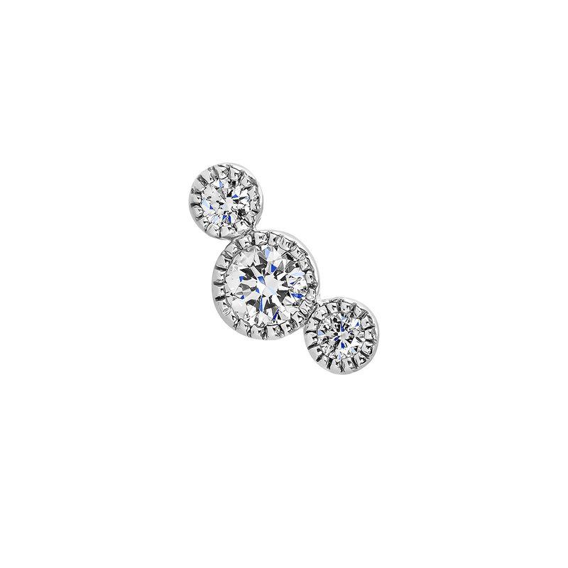 Piercing tres diamantes oro blanco 9kt, J04482-01-H, hi-res