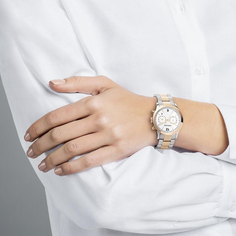 Bi-color Tribeca watch, W53A-STPKGR-AXMX, hi-res