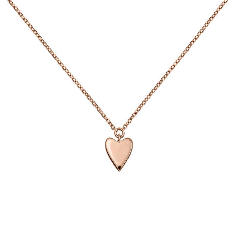 Colgante corazón oro rosa, J03864-03, hi-res