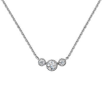 Collar tres diamantes oro blanco 9kt, J04503-01, hi-res