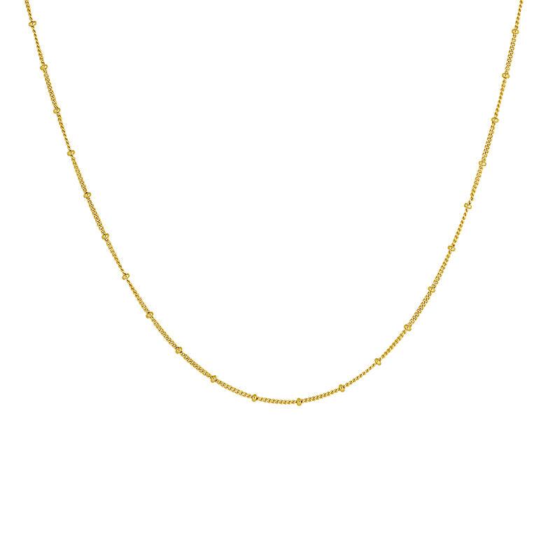 Cadena bolas plata recubierta oro, J04614-02, hi-res