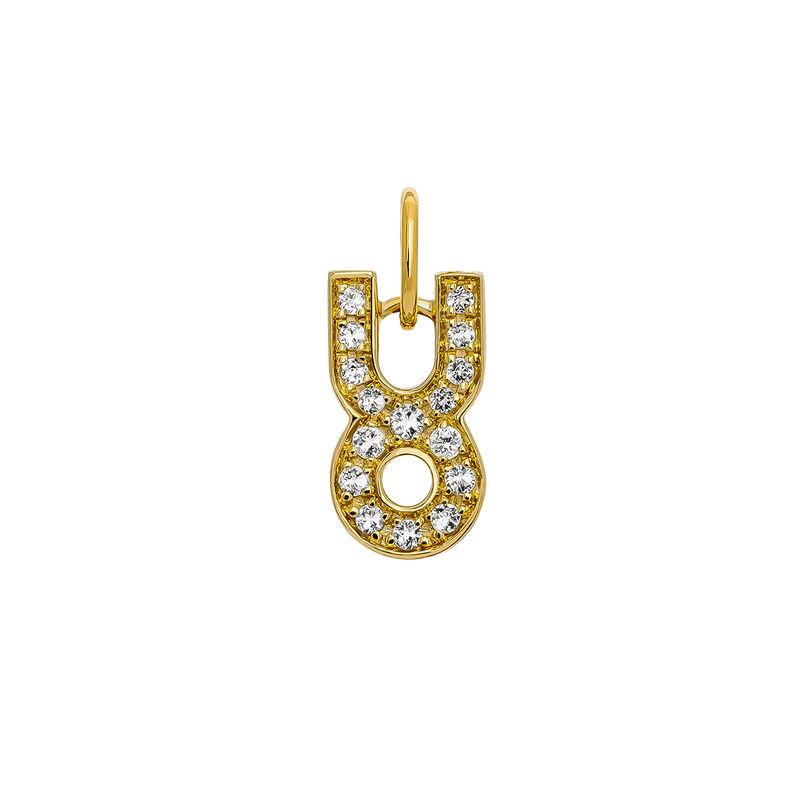 Colgante Tauro oro, J03610-02-WT, hi-res