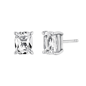 Pendientes rectangulares topacio plata, J03761-01-WT, hi-res