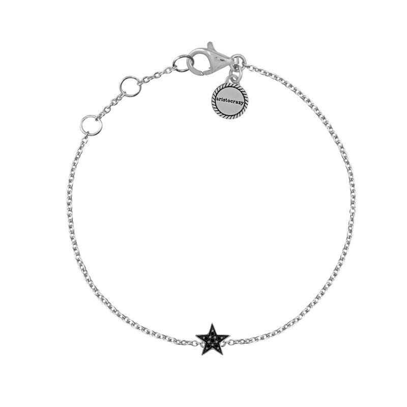 Pulsera estrella espinelas plata, J01861-01-BSN, hi-res