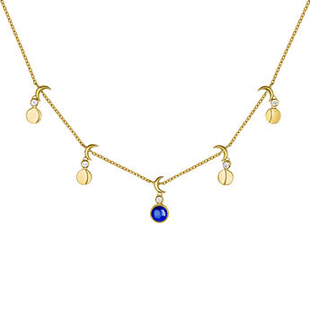 Collar motivos lunas piedra oro, J04002-02-LPS-WT, hi-res