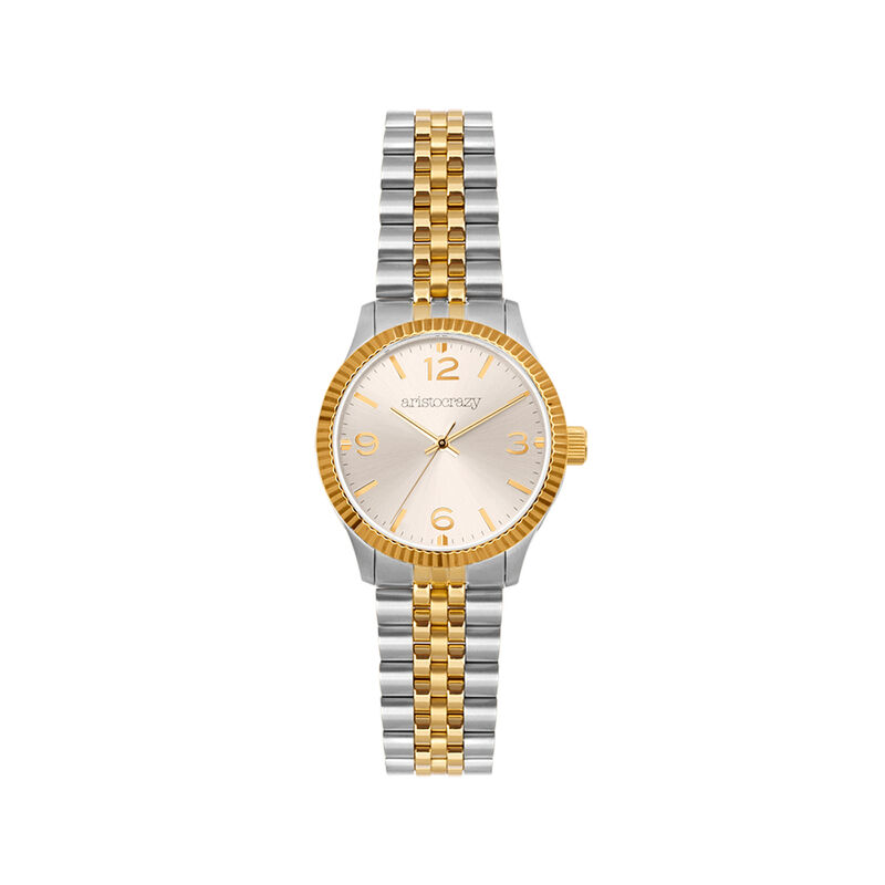 St. Barth watch gold and grey bracelet, W30A-STYWGR-AXMX, hi-res