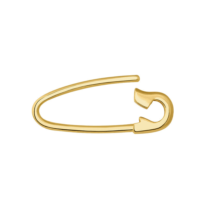 Pendiente colgante imperdible oro 9 kt, J04624-02-V2-H, hi-res
