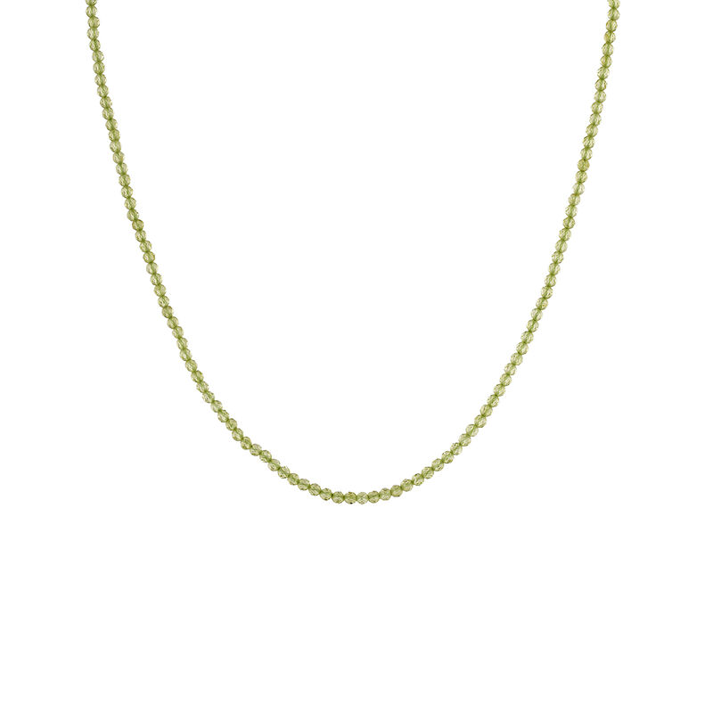 Collier péridot argent plaqué or, J04897-02-PE, hi-res
