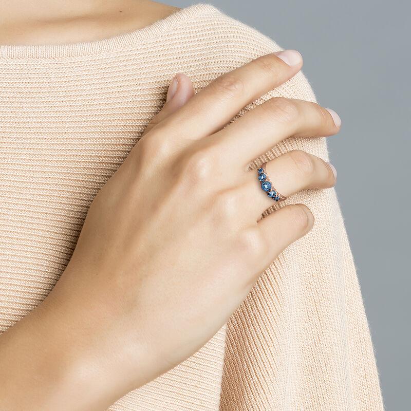 Anillo topacio plata recubierta oro rosa, J03164-03-LB, hi-res