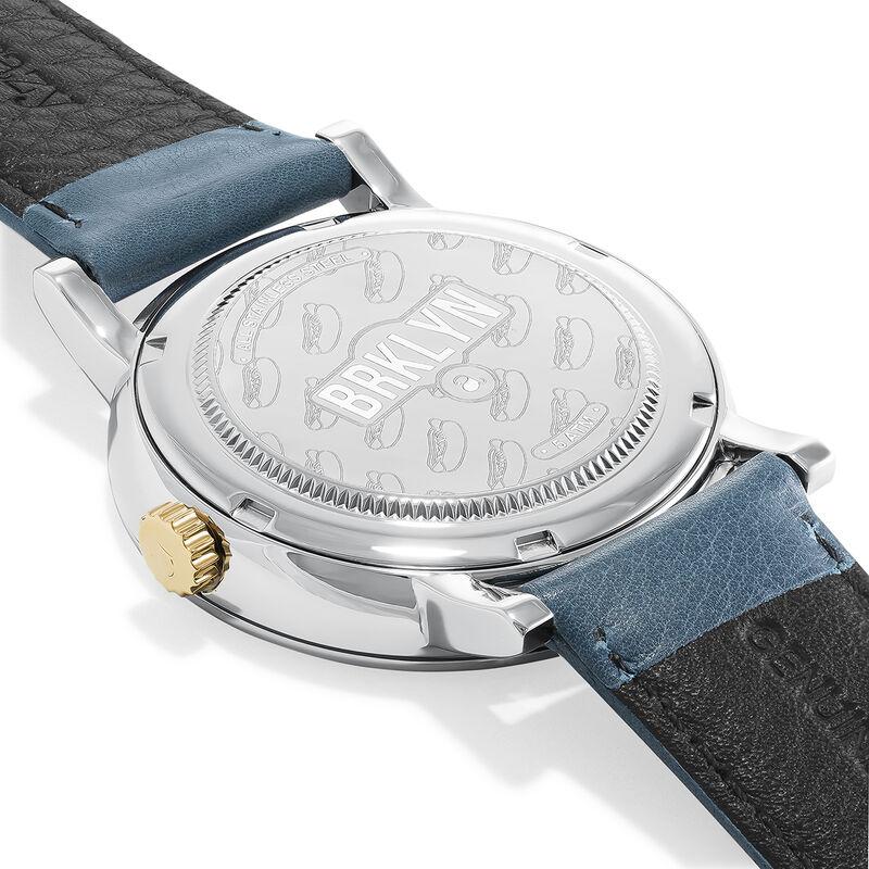 Reloj Brooklyn correa azul, W45A-STSTWP-LEBU, hi-res