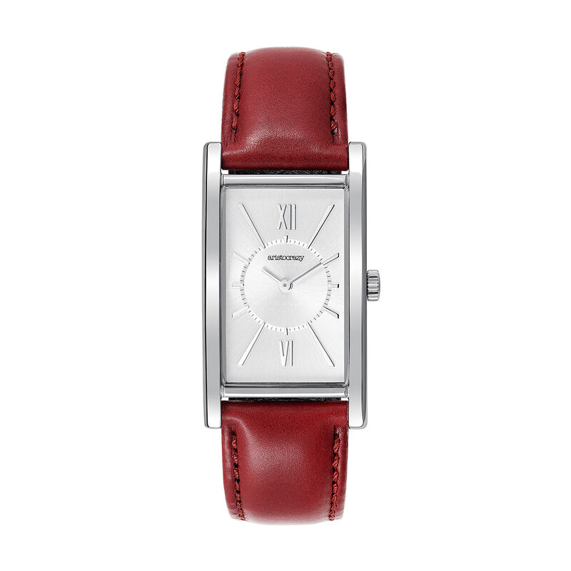 Le Marais watch red strap