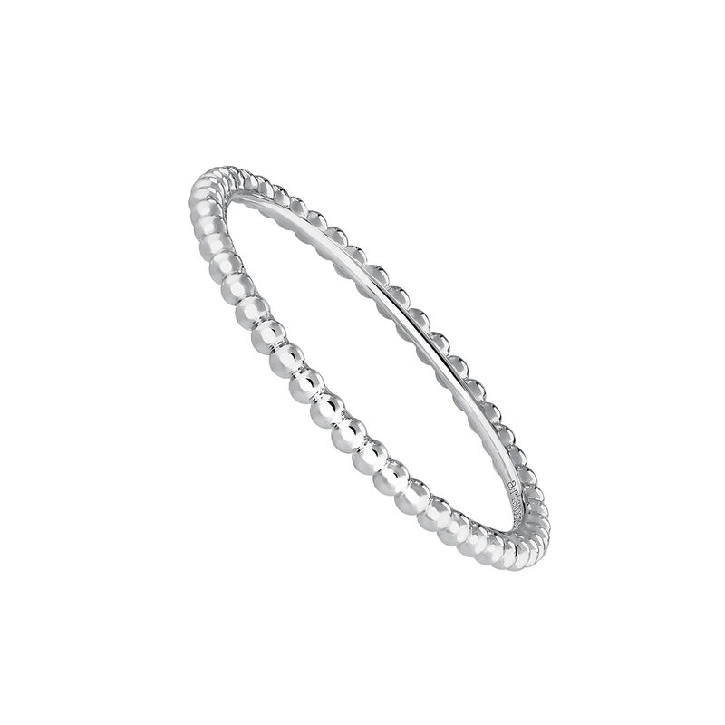 White gold ring with spheres, J03853-01, hi-res
