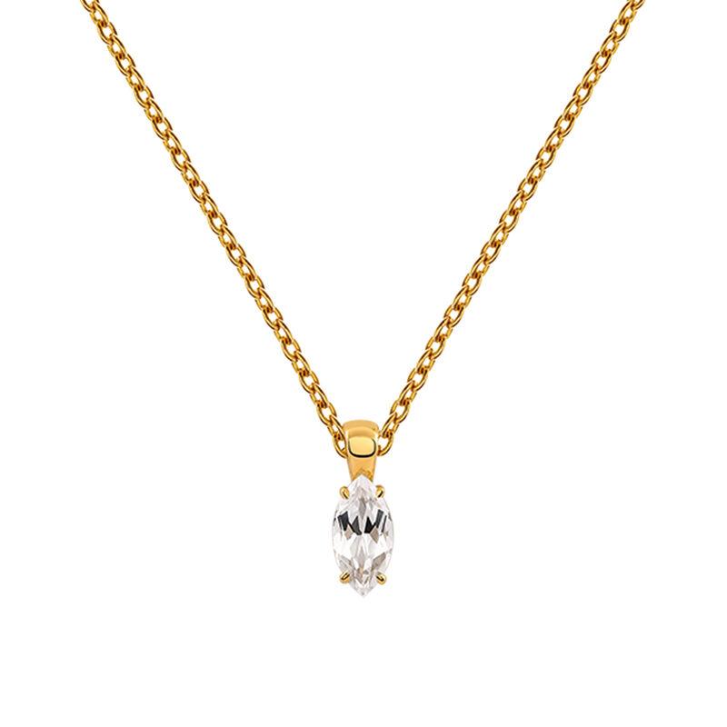 Colgante topacio blanco plata recubierta oro, J03282-02-WT, hi-res