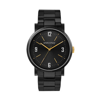 Reloj Brooklyn armis esfera negra, W45A-BLBLBL-AXBL, hi-res