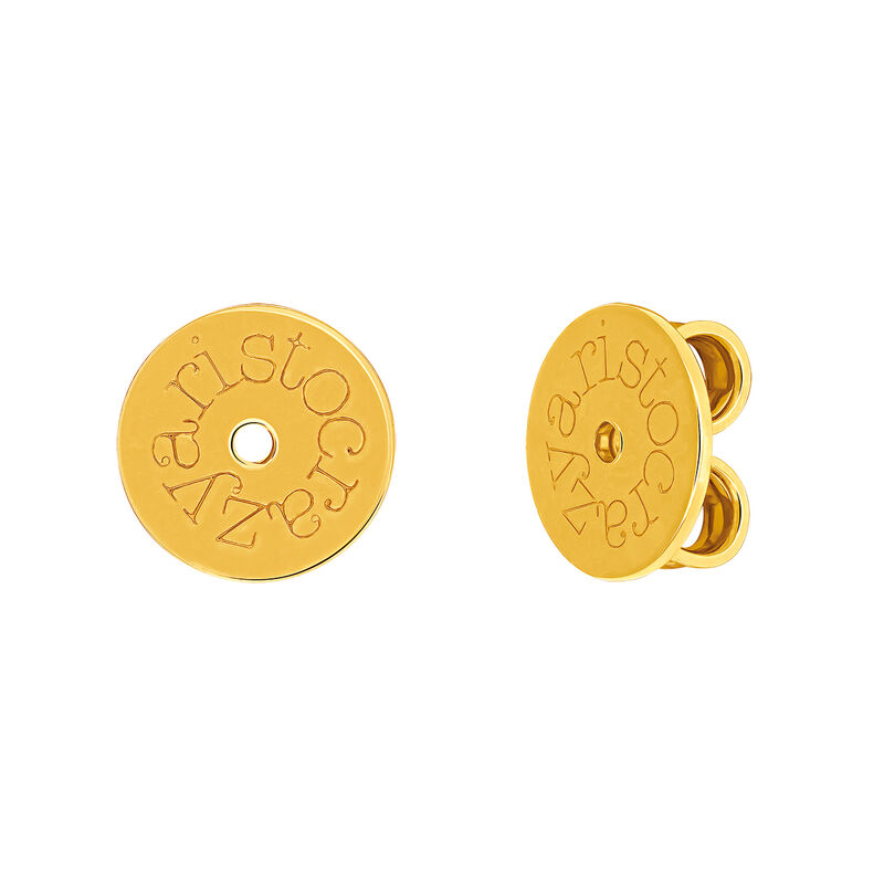 Gold plated snap, F00001-PL-02, hi-res