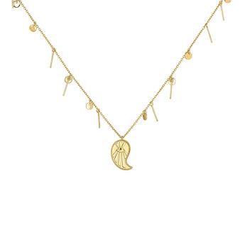 Collar cashmire con colgantes oro, J04139-02-BSN, hi-res