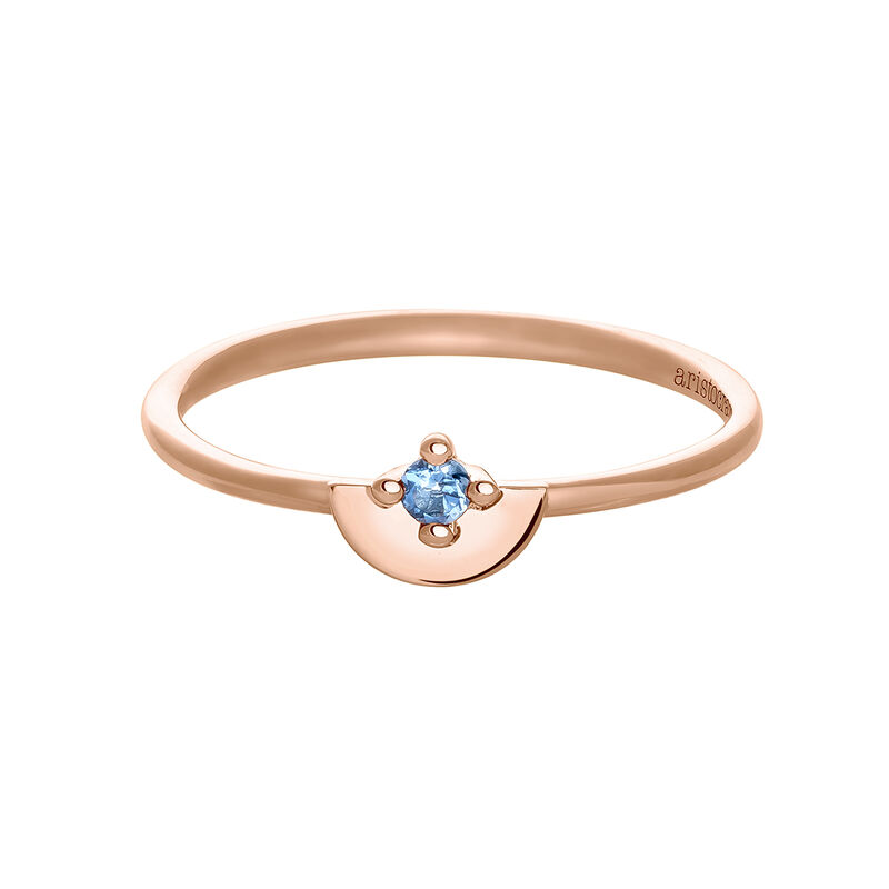 Rose gold topaz ring, J03742-03-LB, hi-res