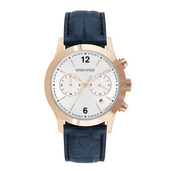 Blue Tribeca watch, W53A-PKPKGR-LEGR, hi-res