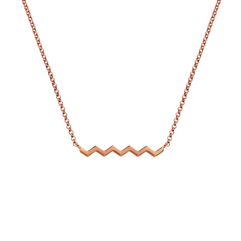 Colgante zigzag oro rosa, J03040-03, hi-res