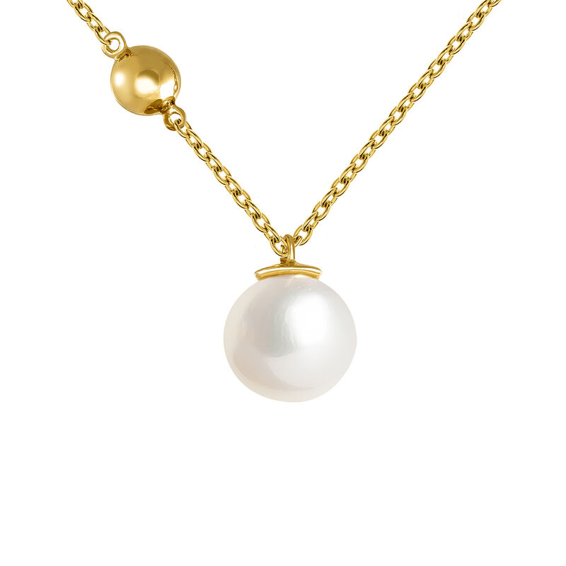 Large gold pearl pendant, J04024-02-WP, hi-res