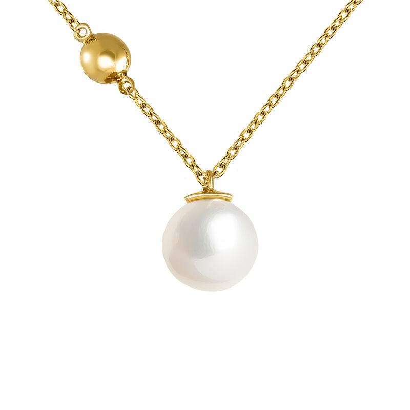 Large gold pearl pendant, J04024-02-WP, hi-res