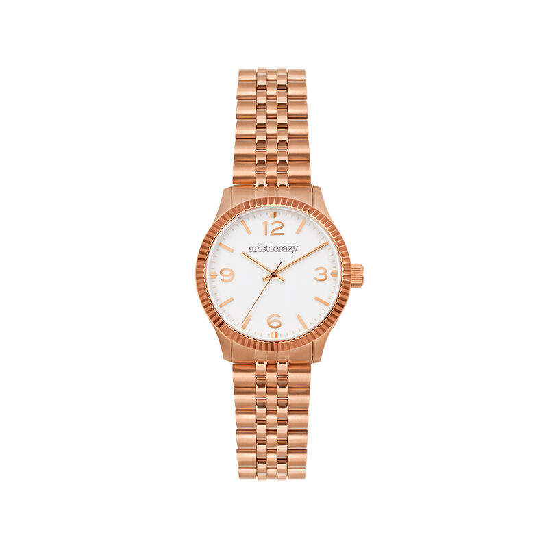 St. Barth watch rose gold bracelet, W30A-PKPKWH-AXPK, hi-res