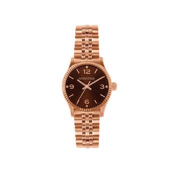 St. Barth watch bracelet brown face , W30A-PKPKBR-AXPK, hi-res