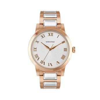 Two-Tone Bracelet Brera Watch, W44A-PKPKGR-PMIX, hi-res